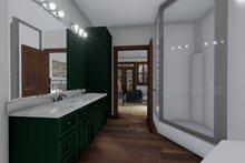 House Design - Cabin Interior - Master Bathroom Plan #1060-24