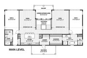 Contemporary Style House Plan - 2 Beds 3 Baths 3118 Sq/Ft Plan #569-37 Floor Plan - Main Floor Plan
