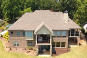 Craftsman Style House Plan - 4 Beds 3 Baths 3633 Sq/Ft Plan #437-102 Exterior - Rear Elevation
