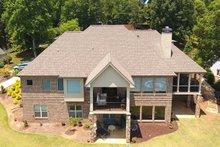House Plan Design - Craftsman Exterior - Rear Elevation Plan #437-102