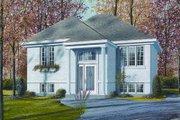 European Style House Plan - 2 Beds 1 Baths 878 Sq/Ft Plan #23-705