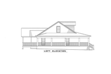House Plan Design - Country Exterior - Other Elevation Plan #17-235