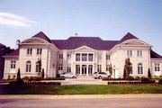 European Style House Plan - 5 Beds 5.5 Baths 6970 Sq/Ft Plan #119-166 Exterior - Other Elevation