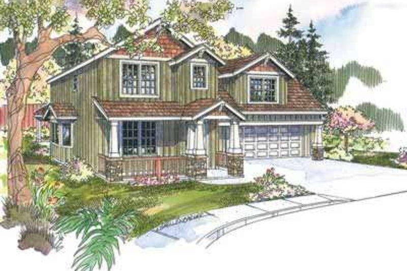 Home Plan - Craftsman Exterior - Front Elevation Plan #124-612
