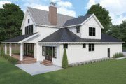 Farmhouse Style House Plan - 4 Beds 3 Baths 3403 Sq/Ft Plan #1070-3 Exterior - Other Elevation