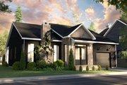 Craftsman Style House Plan - 2 Beds 2 Baths 1440 Sq/Ft Plan #23-2733