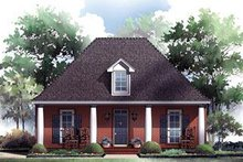 Southern Exterior - Front Elevation Plan #21-229