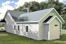 Home Plan - Southern Exterior - Rear Elevation Plan #44-237