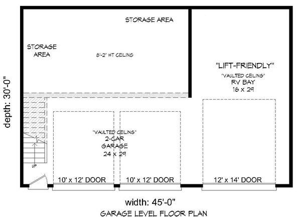 Contemporary Floor Plan - Main Floor Plan Plan #932-229