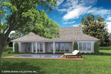 Home Plan - Ranch Exterior - Rear Elevation Plan #930-468