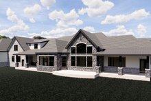 Dream House Plan - European Exterior - Rear Elevation Plan #920-113