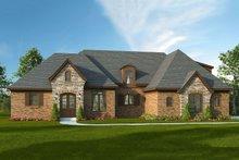 Dream House Plan - European Exterior - Front Elevation Plan #932-5