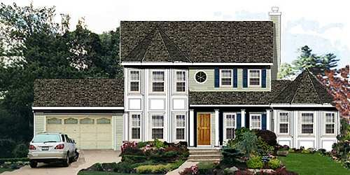 Traditional Exterior - Front Elevation Plan #3-204