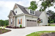 Craftsman Style House Plan - 4 Beds 3 Baths 2331 Sq/Ft Plan #929-978 Exterior - Other Elevation