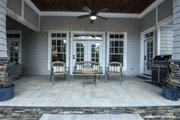 Craftsman Style House Plan - 4 Beds 3 Baths 2533 Sq/Ft Plan #929-24 Exterior - Covered Porch