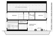 Traditional Style House Plan - 2 Beds 2 Baths 1000 Sq/Ft Plan #905-6 Interior - Other
