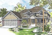 Country Style House Plan - 3 Beds 2.5 Baths 2296 Sq/Ft Plan #124-446 Exterior - Front Elevation