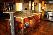 Craftsman Style House Plan - 4 Beds 4.5 Baths 4812 Sq/Ft Plan #921-23 Interior - Kitchen