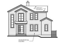 Dream House Plan - Modern Exterior - Rear Elevation Plan #23-423