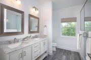 Beach Style House Plan - 3 Beds 2.5 Baths 1830 Sq/Ft Plan #938-108 Interior - Master Bathroom