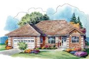 Cottage Style House Plan - 3 Beds 2 Baths 2023 Sq/Ft Plan #18-315 Exterior - Front Elevation