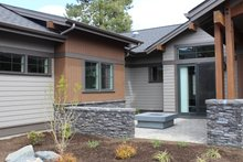Architectural House Design - Craftsman Exterior - Outdoor Living Plan #895-123