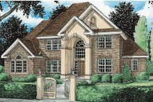 Dream House Plan - European Exterior - Front Elevation Plan #20-286
