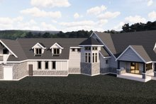 House Plan Design - Craftsman Exterior - Front Elevation Plan #920-98