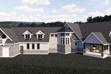 Craftsman Exterior - Front Elevation Plan #920-98