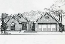 Traditional Exterior - Front Elevation Plan #310-178