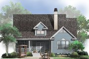 Ranch Style House Plan - 3 Beds 2 Baths 1789 Sq/Ft Plan #929-662 Exterior - Rear Elevation