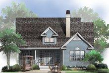 House Plan Design - Ranch Exterior - Rear Elevation Plan #929-662