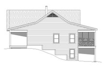 Architectural House Design - Country Exterior - Other Elevation Plan #932-36