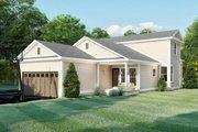 Farmhouse Style House Plan - 3 Beds 2 Baths 1680 Sq/Ft Plan #923-158 Exterior - Rear Elevation