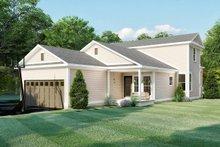 Farmhouse Exterior - Rear Elevation Plan #923-158