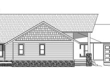 Dream House Plan - Cabin Exterior - Other Elevation Plan #932-288
