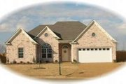 Traditional Style House Plan - 3 Beds 2 Baths 1951 Sq/Ft Plan #81-1023 Exterior - Front Elevation