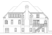 Dream House Plan - Colonial Exterior - Rear Elevation Plan #119-320