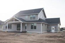 Architectural House Design - Craftsman Exterior - Rear Elevation Plan #1070-35