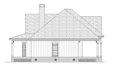 Southern Exterior - Other Elevation Plan #45-376