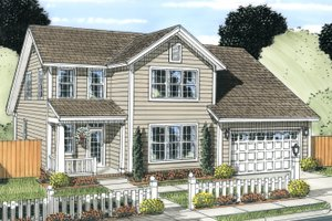 Traditional Exterior - Front Elevation Plan #513-2081
