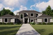Modern Style House Plan - 4 Beds 2 Baths 3631 Sq/Ft Plan #1064-19