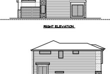 Dream House Plan - Contemporary Exterior - Other Elevation Plan #1066-49