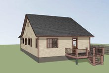 Home Plan - Craftsman Exterior - Rear Elevation Plan #79-269