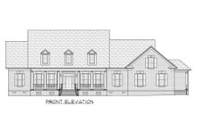 Country Exterior - Front Elevation Plan #1054-65