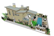 Modern Style House Plan - 3 Beds 3.5 Baths 1845 Sq/Ft Plan #484-2 Photo