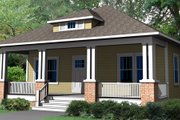 Craftsman Style House Plan - 3 Beds 2.5 Baths 2020 Sq/Ft Plan #461-8 Exterior - Front Elevation