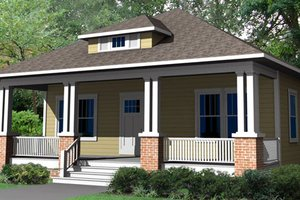 Craftsman Exterior - Front Elevation Plan #461-8