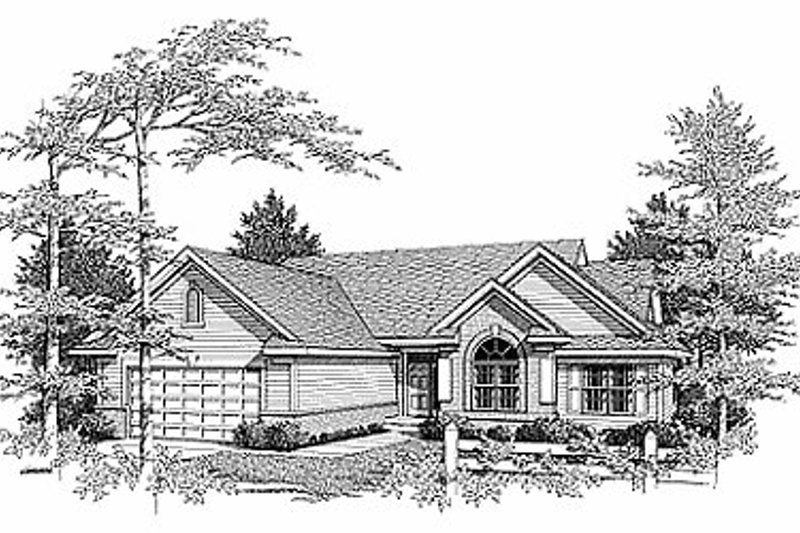 Traditional Exterior - Front Elevation Plan #70-174