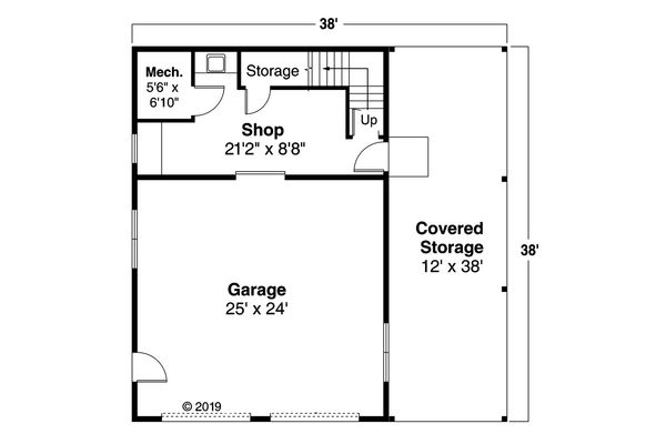 Farmhouse Floor Plan - Main Floor Plan Plan #124-893